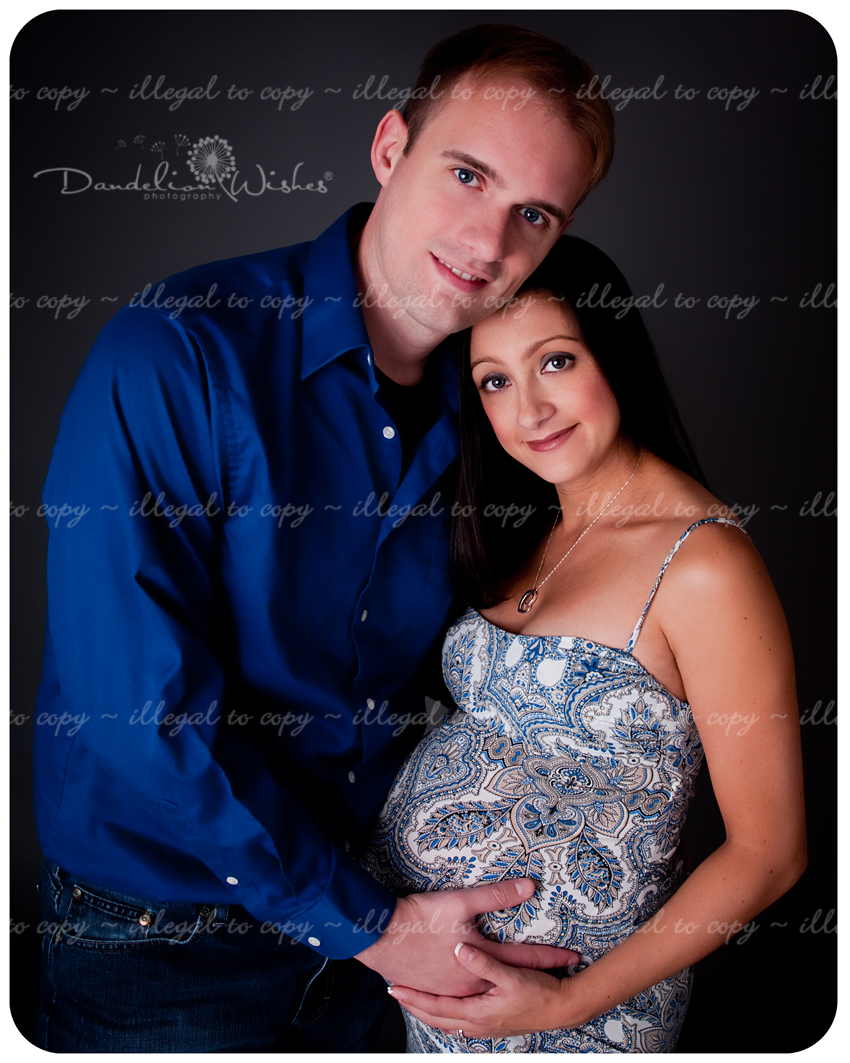 Artistic professional maternity photographer in Alexandria area.