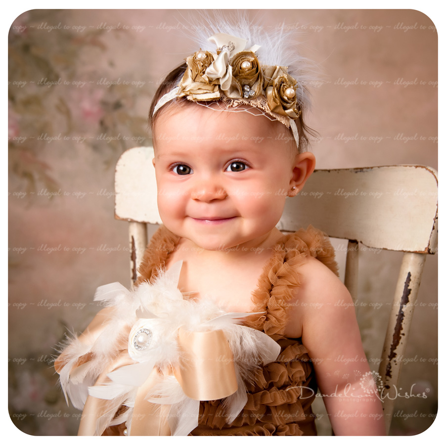 Baby's First Birthday Portraits ~ Best Baby Picture Studios in Northern Virginia ~ near Quantico VA 22134