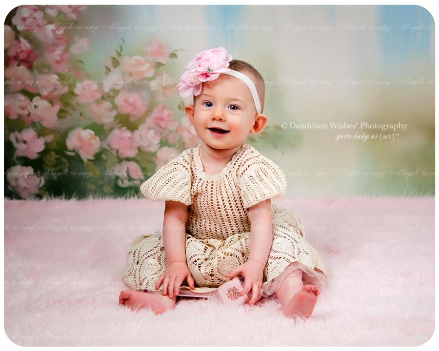 Six month baby photos