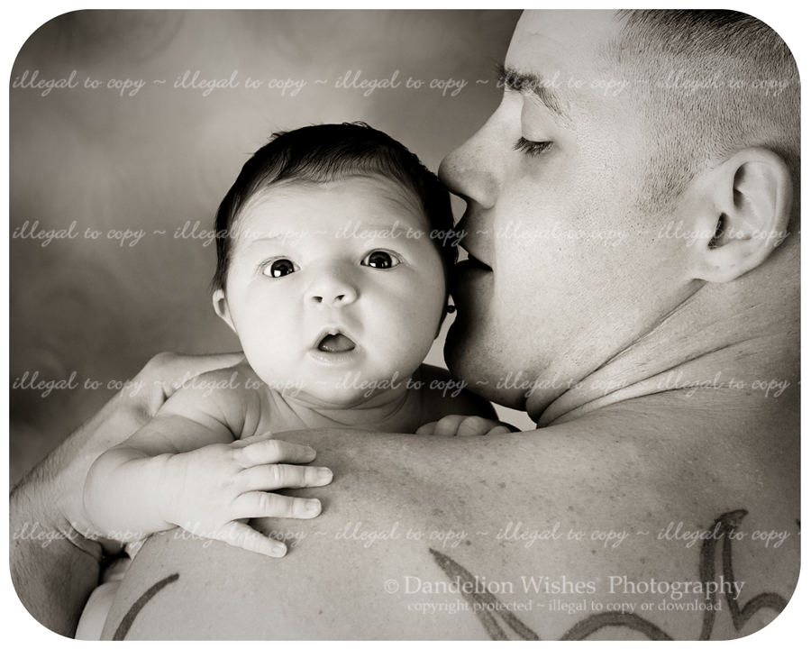 artistic dad &amp; baby portraits in the suburban maryland, washington dc metro area 