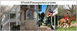 Visit Warrenton, Virginia and Fauquier County!